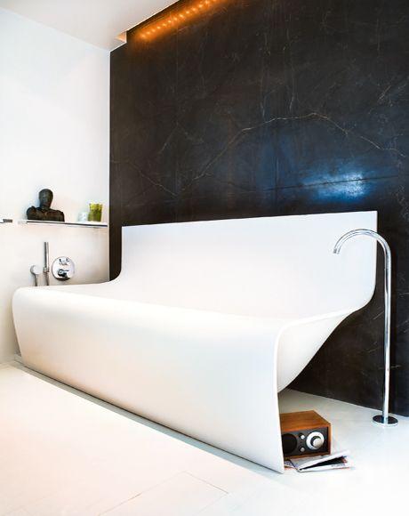 Акриловые ванны могут быть самых необычных конфигураций