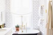 Фото 23 Дизайн белой ванной комнаты (75 фото): «чистая» гармония