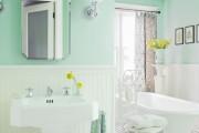Фото 19 Дизайн белой ванной комнаты (75 фото): «чистая» гармония