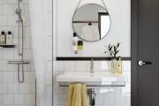 Фото 25 Дизайн белой ванной комнаты (75 фото): «чистая» гармония