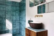 Фото 15 Дизайн белой ванной комнаты (75 фото): «чистая» гармония
