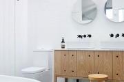Фото 12 Дизайн белой ванной комнаты (75 фото): «чистая» гармония