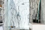 Фото 30 Дизайн белой ванной комнаты (75 фото): «чистая» гармония