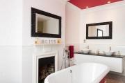 Фото 2 Дизайн белой ванной комнаты (75 фото): «чистая» гармония