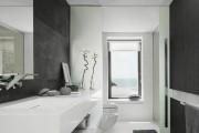 Фото 33 Дизайн белой ванной комнаты (75 фото): «чистая» гармония