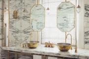 Фото 18 Дизайн белой ванной комнаты (75 фото): «чистая» гармония