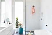 Фото 16 Дизайн белой ванной комнаты (75 фото): «чистая» гармония