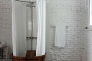 Фото 36 Дизайн белой ванной комнаты (75 фото): «чистая» гармония