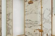 Фото 37 Дизайн белой ванной комнаты (75 фото): «чистая» гармония