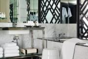 Фото 26 Черно-белая ванная комната (56 фото): шик и оригинальность в вашем доме