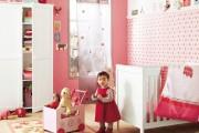 Фото 14 Обои для детской комнаты девочки: 44 интерьера, которые придутся по душе ребенку