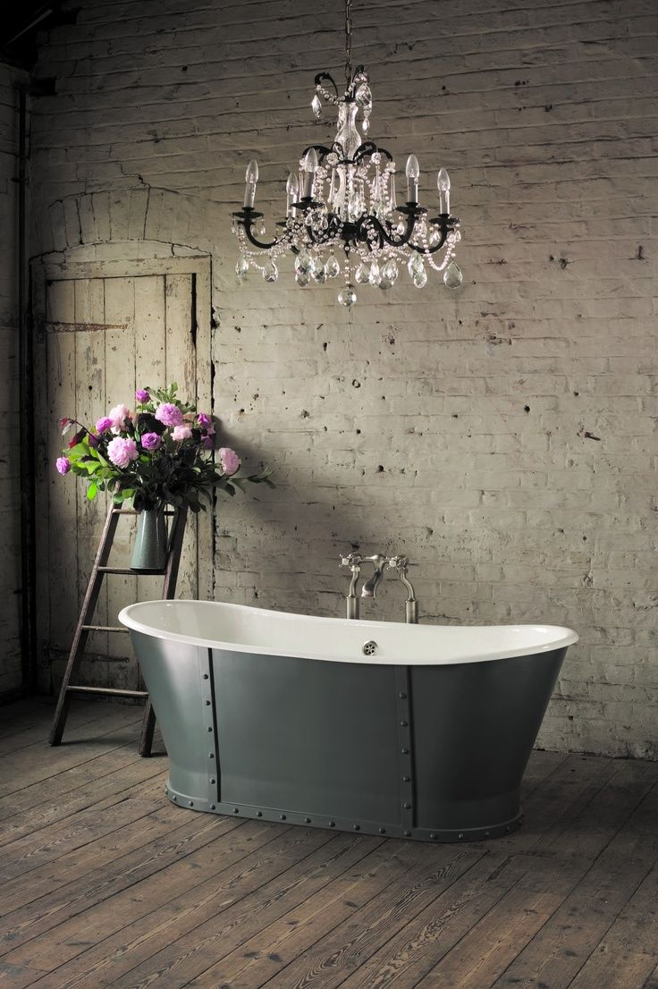 Bathtub chandelier