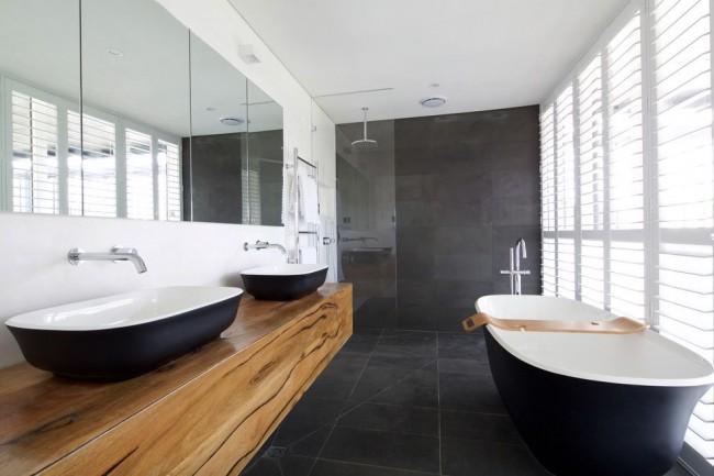 Чугунная ванна в стиле модерн
