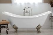Фото 3 Чугунные ванны (размеры и цены): беспроигрышная классика (61 фото)