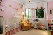 Фото 15 Обои для детской комнаты девочки: 44 интерьера, которые придутся по душе ребенку