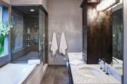 Фото 13 Освещение в ванной комнате: выбираем оптимальный световой сценарий