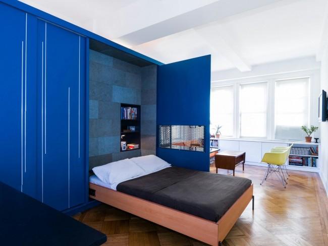 Кровать-трансформер - отличное решение для квартиры-хрущевки