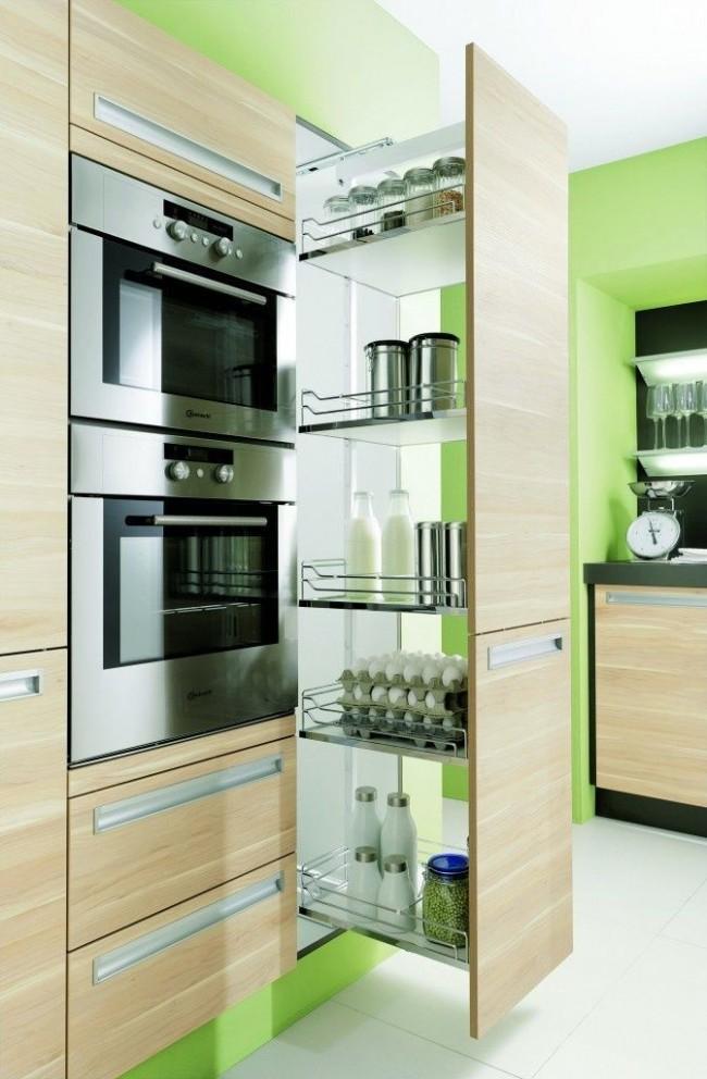 Мебель современной кухни должна быть функциональной и компактной