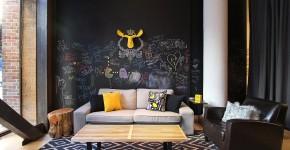 75+ идей доски для мела в интерьере: модно, удобно и функционально фото