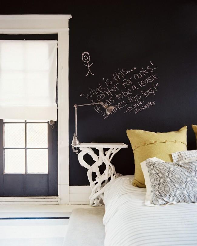 На стене модно оставлять афоризмы на разные темы