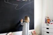 Фото 17 75+ идей доски для мела в интерьере: модно, удобно и функционально
