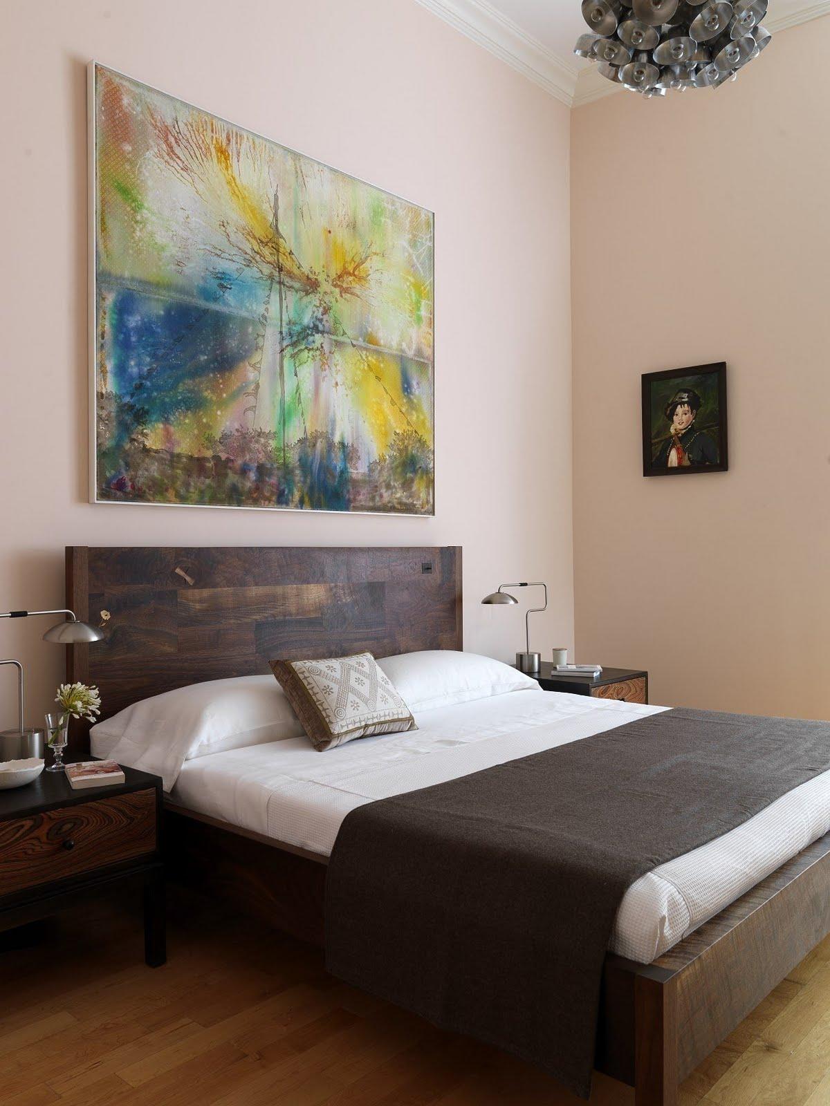 Картины в спальне своими руками фото