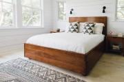 Фото 12 Двуспальные кровати: размеры, параметры матрасов и как купить идеальную? Рекомендации экспертов