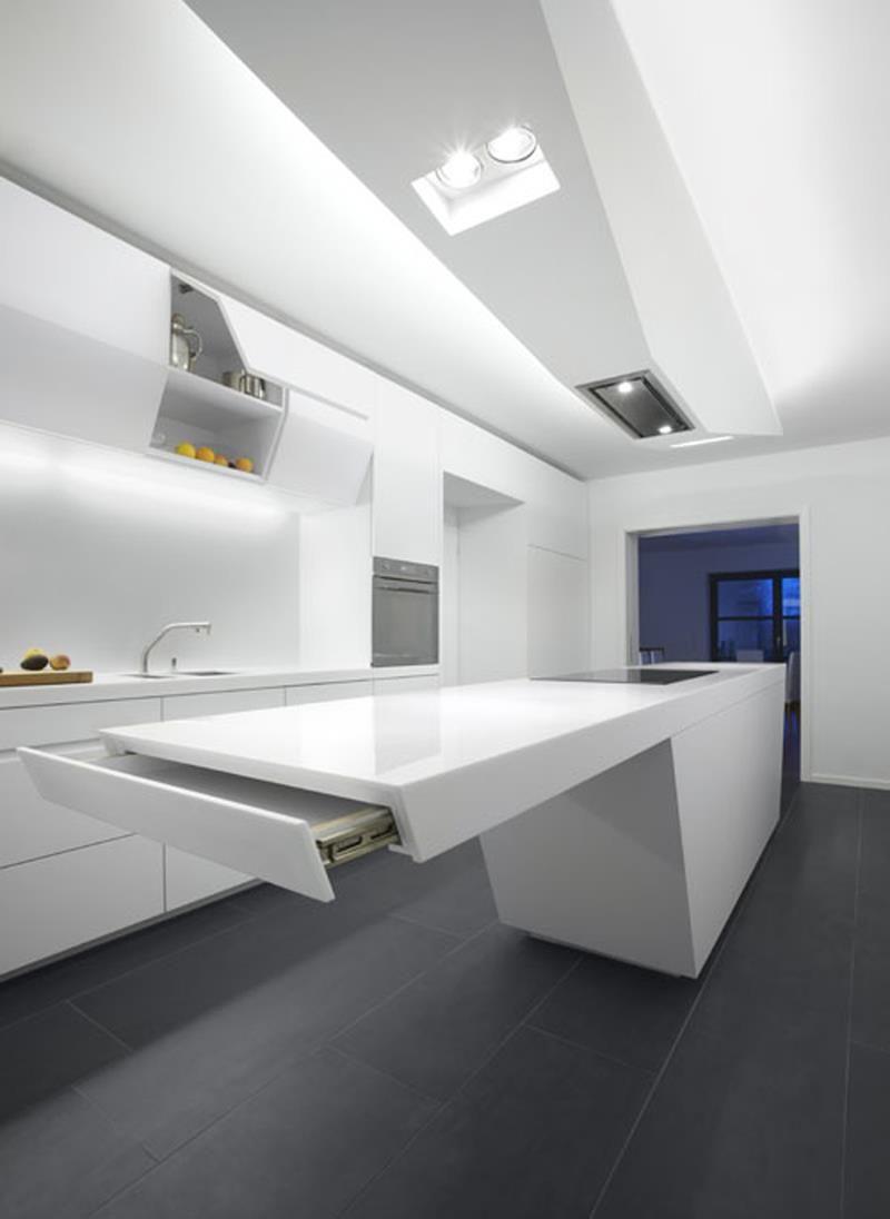 Moderne Kucheneinrichtungen Hi Tech
