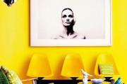Фото 1 Желтый цвет в интерьере (64 фото): солнечная палитра для дома