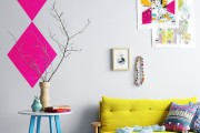 Фото 2 Желтый цвет в интерьере (64 фото): солнечная палитра для дома