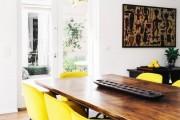 Фото 29 Желтый цвет в интерьере (64 фото): солнечная палитра для дома