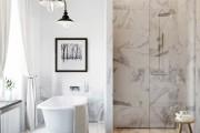 Фото 39 Дизайн белой ванной комнаты (75 фото): «чистая» гармония