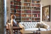 Фото 37 Книжные шкафы и библиотеки для дома: как выбрать и разместить правильно