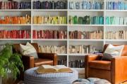 Фото 38 Книжные шкафы и библиотеки для дома: как выбрать и разместить правильно