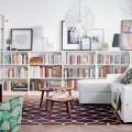 Книжные шкафы и библиотеки для дома: как выбрать и разместить правильно фото