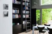 Фото 44 Книжные шкафы и библиотеки для дома: как выбрать и разместить правильно