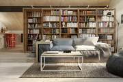 Фото 31 Книжные шкафы и библиотеки для дома: как выбрать и разместить правильно