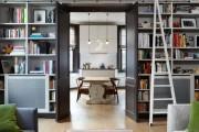 Фото 30 Книжные шкафы и библиотеки для дома: как выбрать и разместить правильно