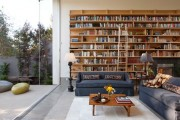 Фото 21 Книжные шкафы и библиотеки для дома: как выбрать и разместить правильно