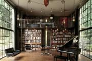 Фото 26 Книжные шкафы и библиотеки для дома: как выбрать и разместить правильно