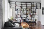 Фото 20 Книжные шкафы и библиотеки для дома: как выбрать и разместить правильно