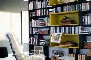 Фото 19 Книжные шкафы и библиотеки для дома: как выбрать и разместить правильно