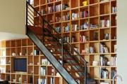 Фото 18 Книжные шкафы и библиотеки для дома: как выбрать и разместить правильно
