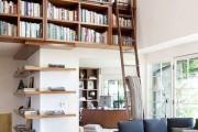 Фото 12 Книжные шкафы и библиотеки для дома: как выбрать и разместить правильно