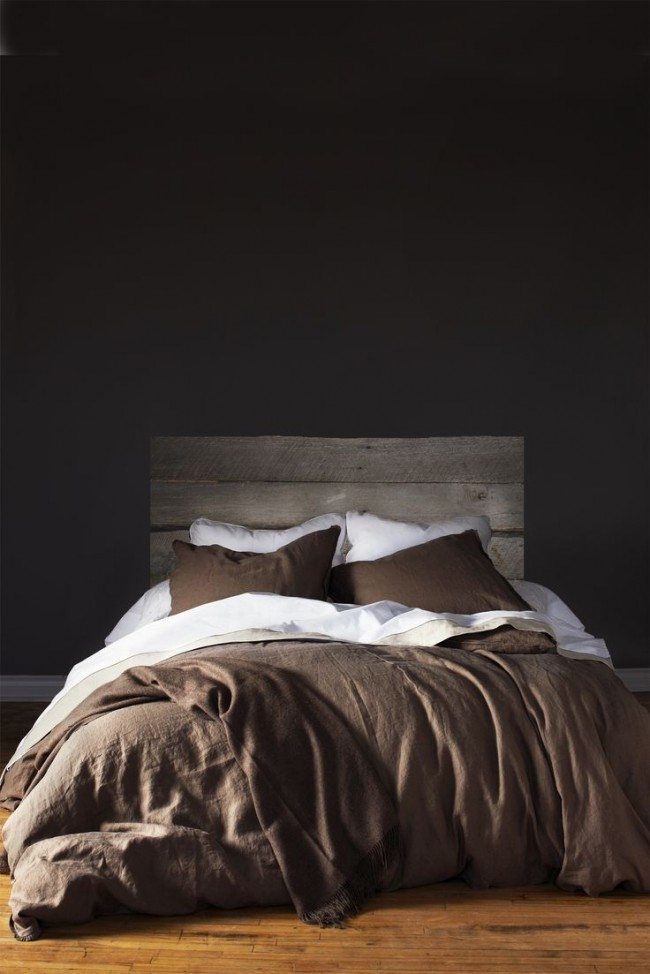 Такая спальня будет выглядеть как минимум оригинально и нестандартно