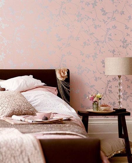 Идеальный цветовой тандем для спальни романтичной девушки
