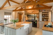 Фото 7 Кухня в стиле кантри (53 фото): душевная простота деревенского быта