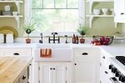Фото 3 Кухня в стиле кантри (53 фото): душевная простота деревенского быта