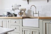 Фото 10 Кухня в стиле кантри (53 фото): душевная простота деревенского быта