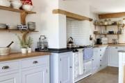 Фото 4 Кухня в стиле кантри (53 фото): душевная простота деревенского быта